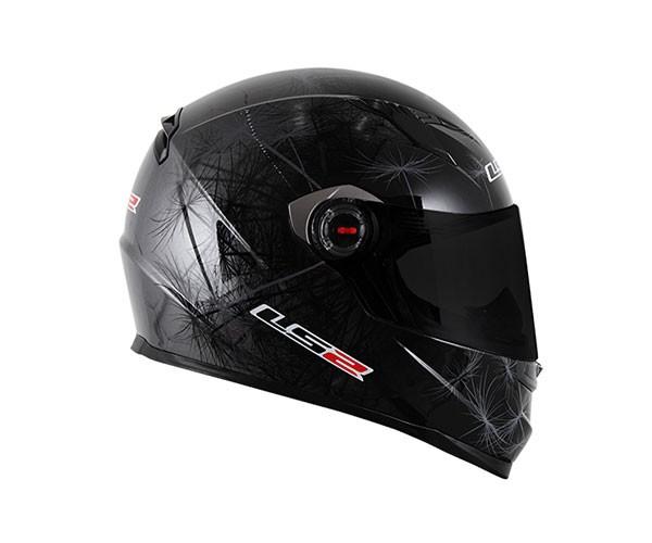 Capacete LS2 FF358 Breeze BLK/ANTH  - Nova Suzuki Motos e Acessórios