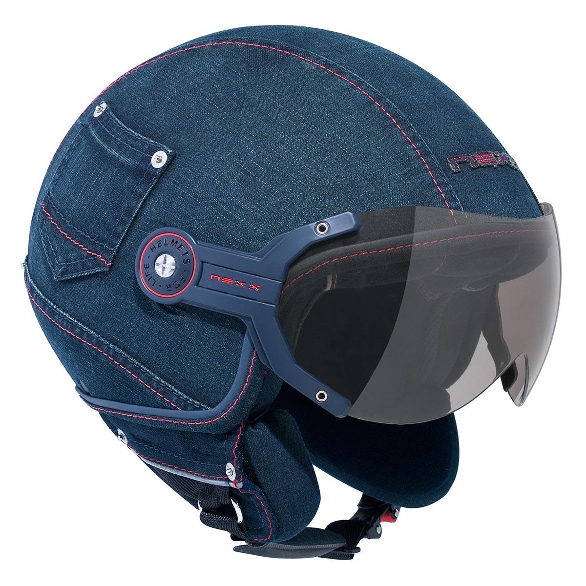 Capacete Nexx X60 Denim Cult Jeans NOVO!  - Nova Suzuki Motos e Acessórios