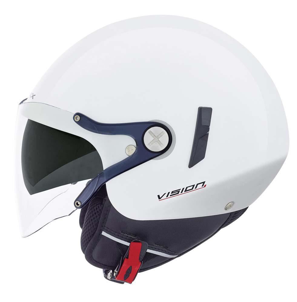 Capacete Nexx X60 Vision Flex 2 Branco C/ Viseira solar NOVO!  - Nova Suzuki Motos e Acessórios