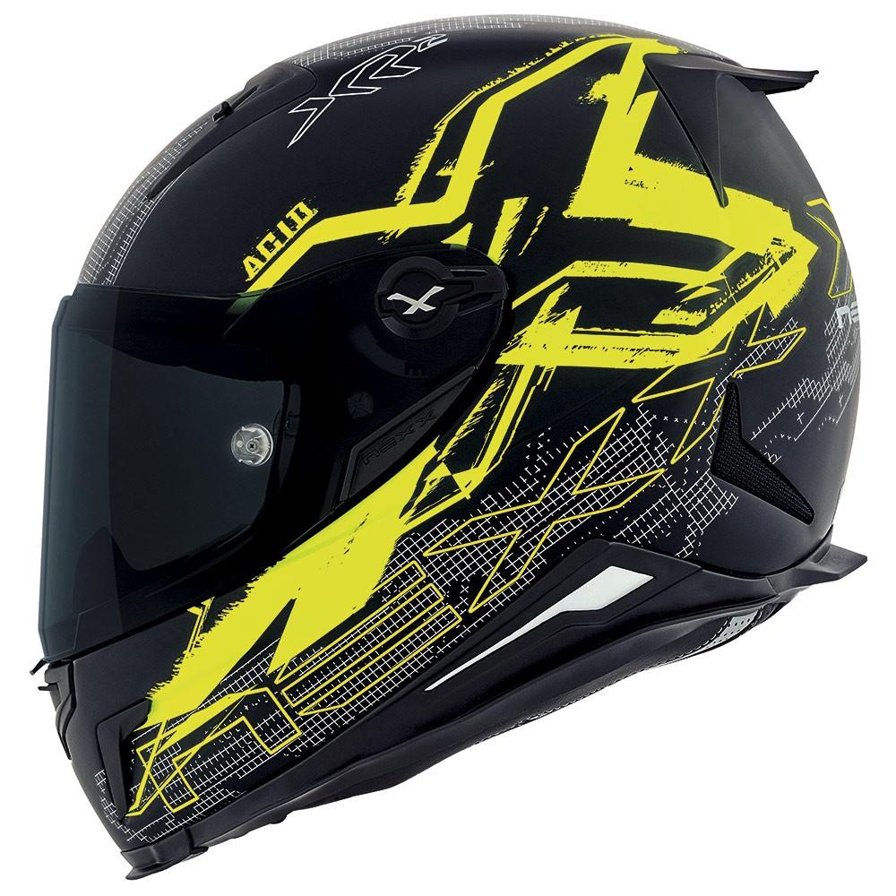 Capacete Nexx XR2 Acid Neon Amarelo -  LANÇAMENTO  - Nova Suzuki Motos e Acessórios