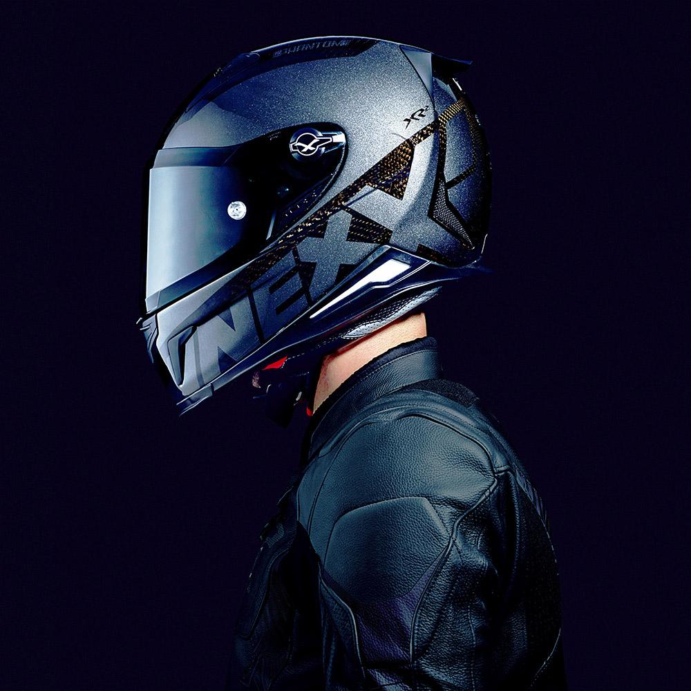 Capacete Nexx XR2 Carbon Phantom - NOVO!  - Nova Suzuki Motos e Acessórios