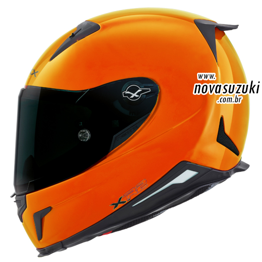 Capacete Nexx XR2 Neon Laranja - Tri-Composto  - Nova Suzuki Motos e Acessórios