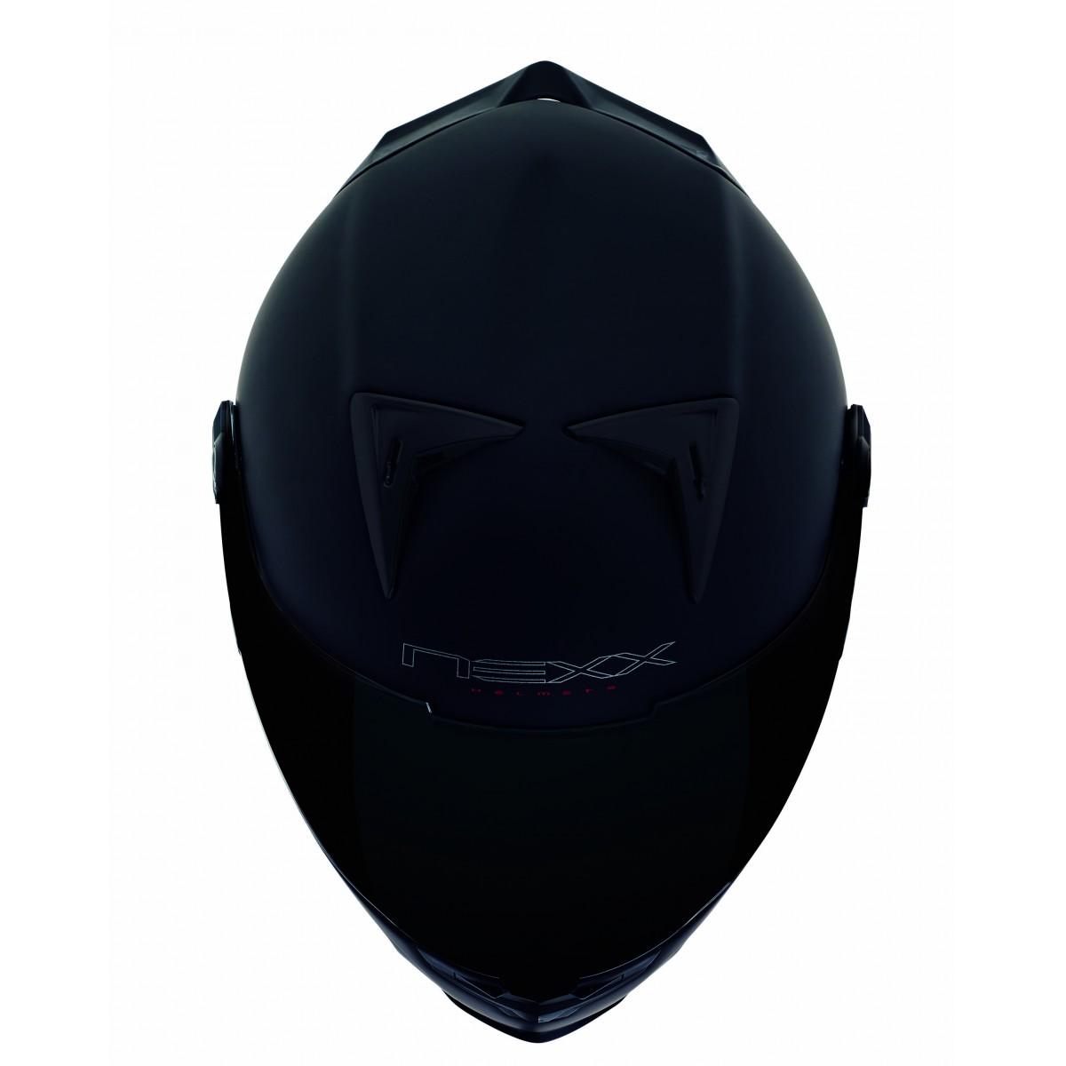 Capacete Nexx XR2 Plain Preto Fosco - Ganhe Viseira Fumê e Pinlock  - Nova Suzuki Motos e Acessórios