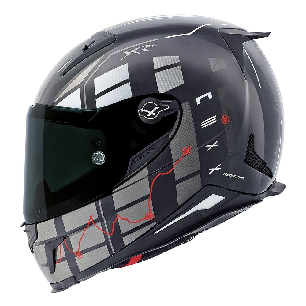 Capacete Nexx XR2 Vírus Black Tri-Composto - NOVO!  - Nova Suzuki Motos e Acessórios