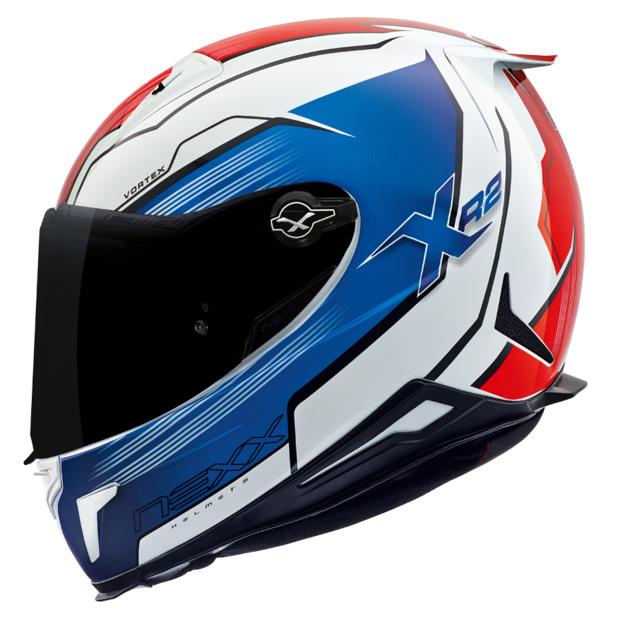 Capacete Nexx XR2 Vortex Azul - Tri-Composto - Ganhe Viseira Fumê e Pinlock  - Nova Suzuki Motos e Acessórios