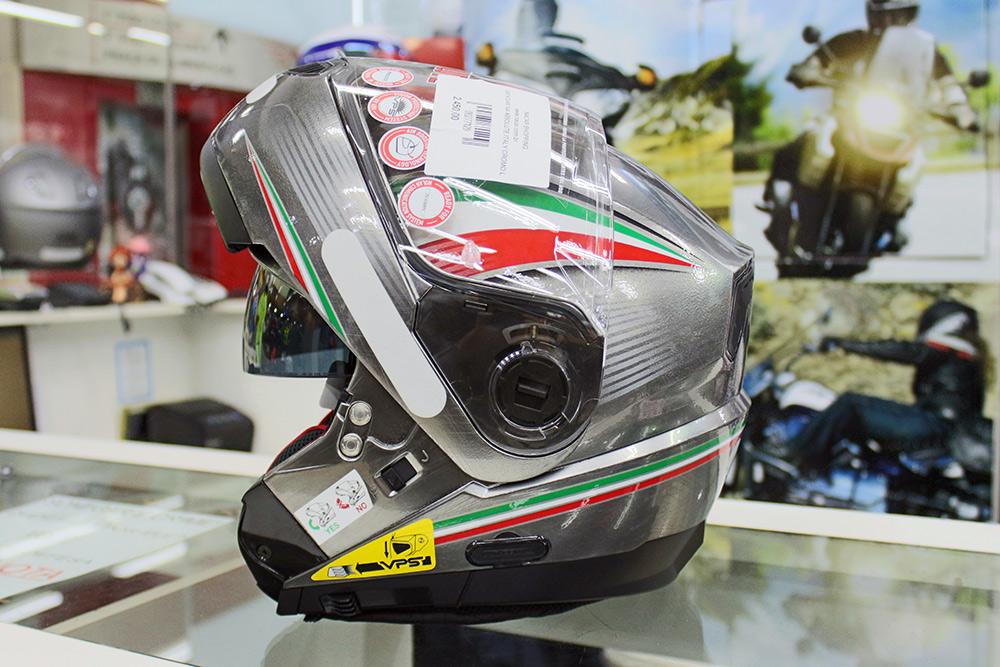 Capacete Nolan N104 Absolut Itália Cinza Escamoteável C/ Viseira Solar Interna - Ganhe Balaclava Exclusiva!  - Nova Suzuki Motos e Acessórios