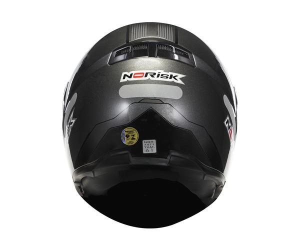 Capacete NoRisk FF370 Midnight Titanium Escamoteável - COM VÍDEO - OFERTA  - Nova Suzuki Motos e Acessórios