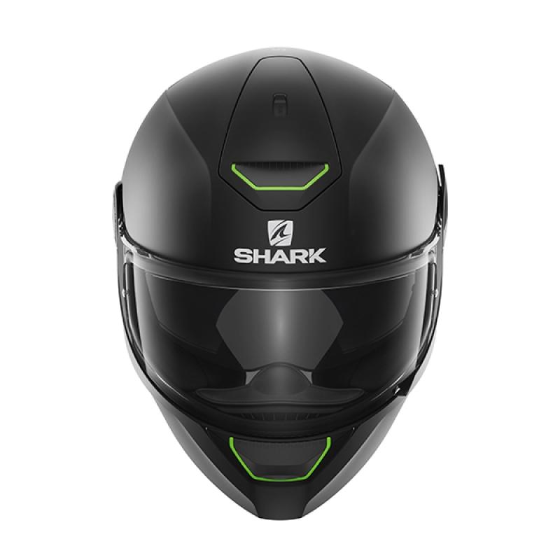 Capacete Shark Skwal Blank Matt KMA c/ Led  - Nova Suzuki Motos e Acessórios