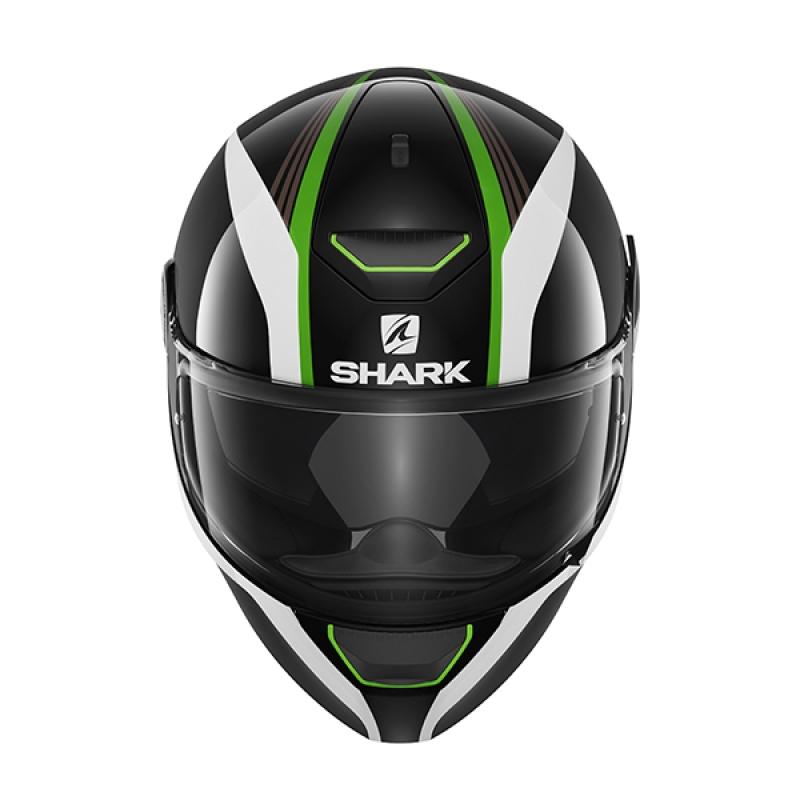 Capacete Shark Skwal Spinax KWG c/ Led  - Nova Suzuki Motos e Acessórios