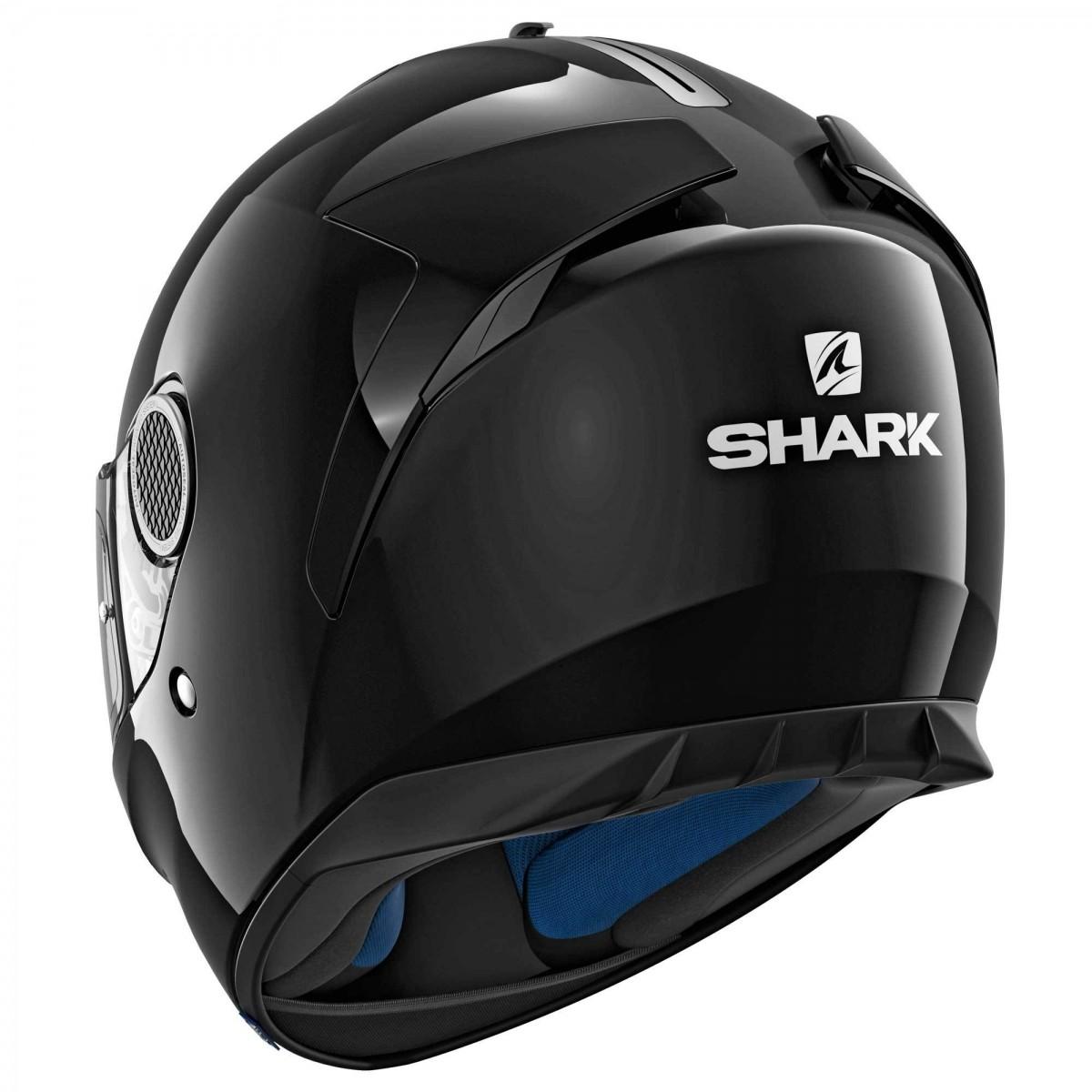 Capacete Shark Spartan APIC SS P BLK  - Nova Suzuki Motos e Acessórios