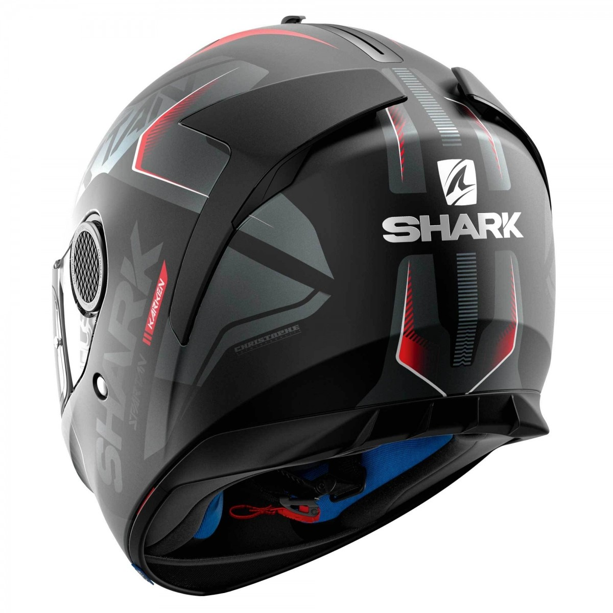 Capacete Shark Spartan Karken Matt Kra  - Nova Suzuki Motos e Acessórios