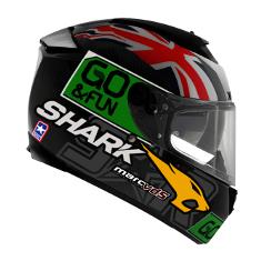 Capacete Shark  Speed-R 2 Réplica Redding  DGY - Só 60  - Nova Suzuki Motos e Acessórios