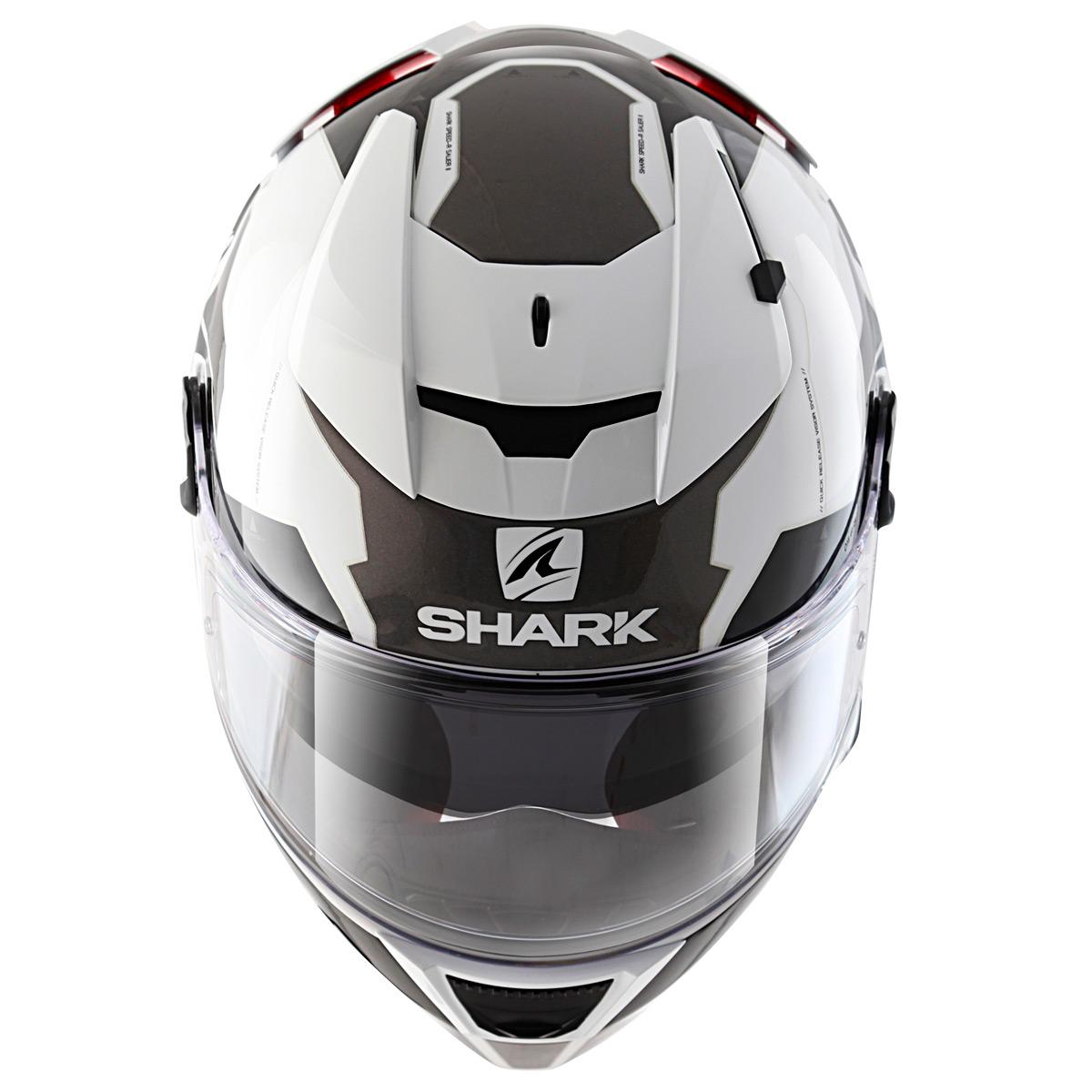 Capacete Shark Speed-R Sauer WKA  - Nova Suzuki Motos e Acessórios
