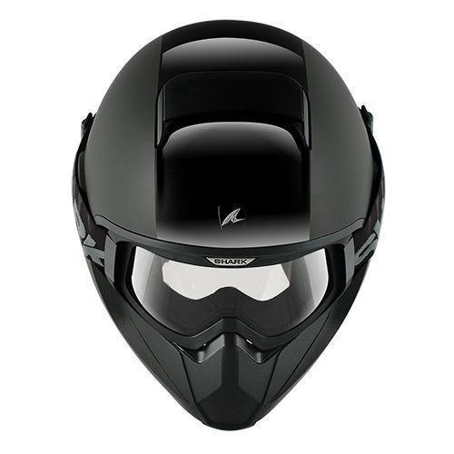 Capacete Shark Vancore Dual Black BLK   - Nova Suzuki Motos e Acessórios