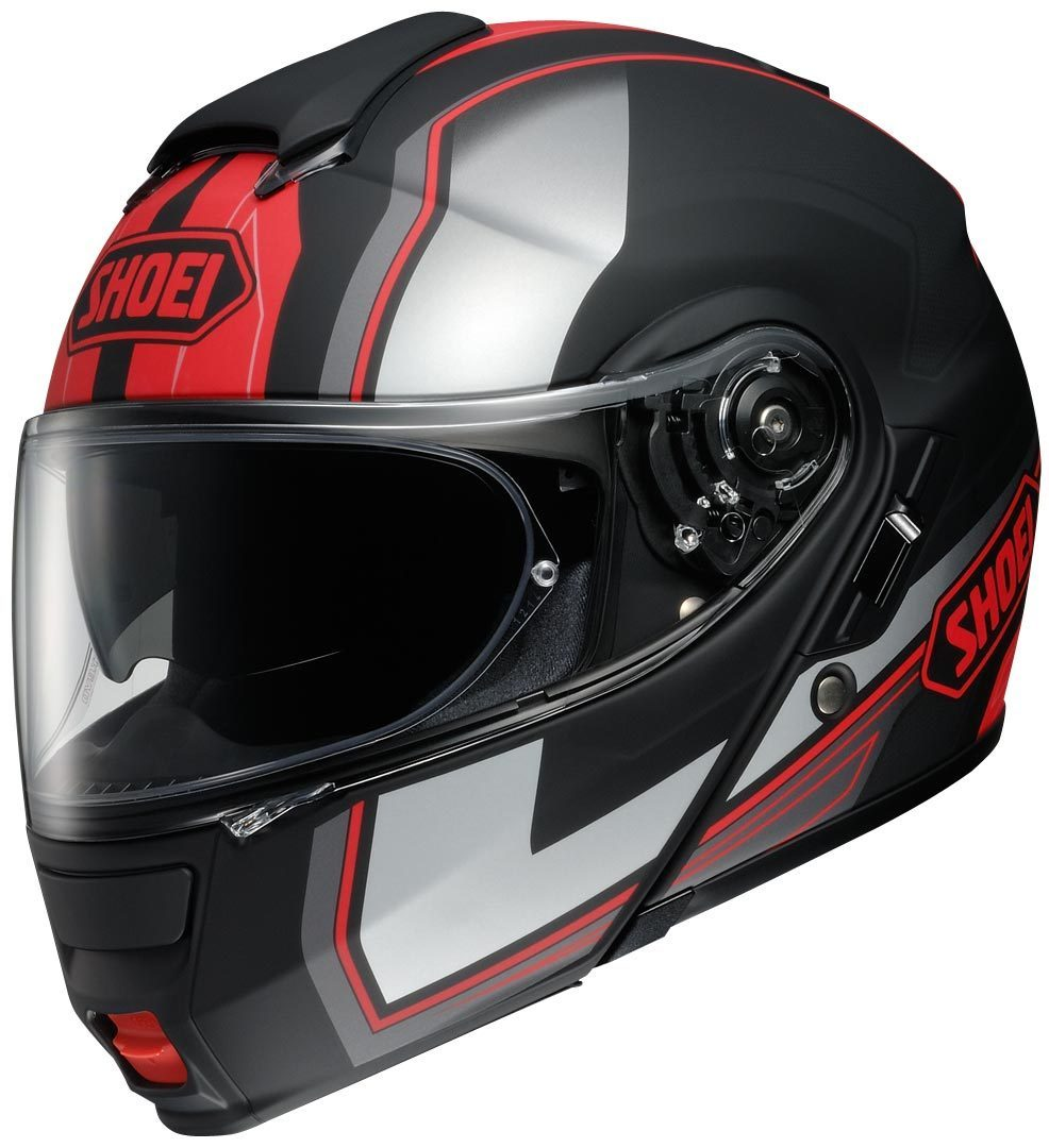 Capacete Shoei Neotec Imminent TC-1 Vermelho Escamoteável - NOVO!  - Nova Suzuki Motos e Acessórios