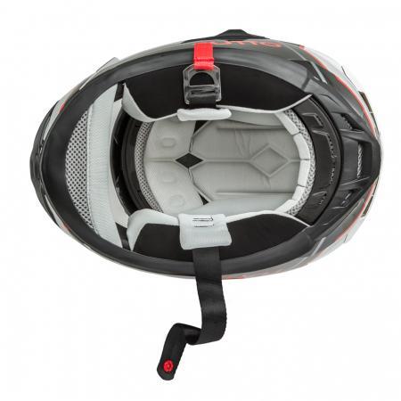 Capacete Tutto Racing Red c/Óculos Interno - GANHE Viseira Espelhada!  - Nova Suzuki Motos e Acessórios