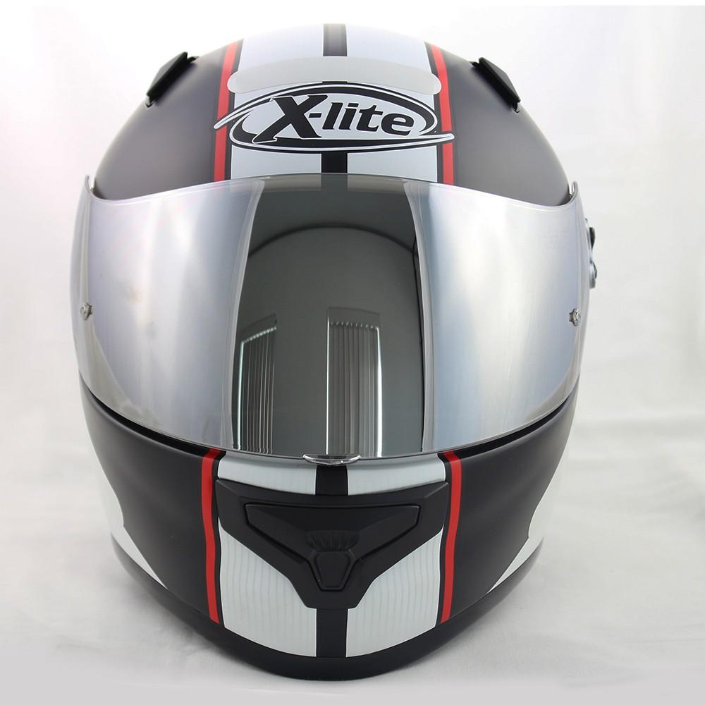 CAPACETE X-LITE X-661 VINTY N-COM - FLAT BLACK - Ganhe Balaclava Exclusiva!  - Nova Suzuki Motos e Acessórios