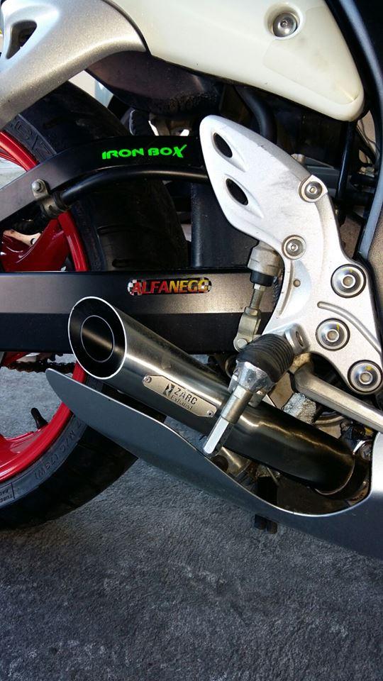 Escapamento Zarc GP Duplo Para Suzuki Hayabusa (Escolha Ano)  - Nova Suzuki Motos e Acessórios