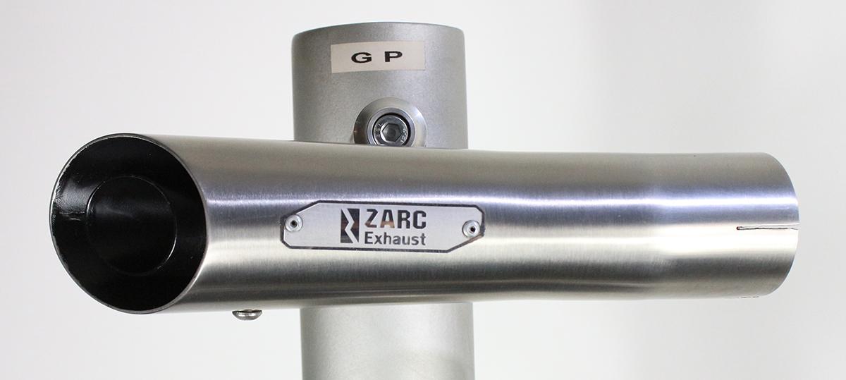 Escapamento Zarc GP Para Suzuki SRAD 1000 2006/2007  - Nova Suzuki Motos e Acessórios