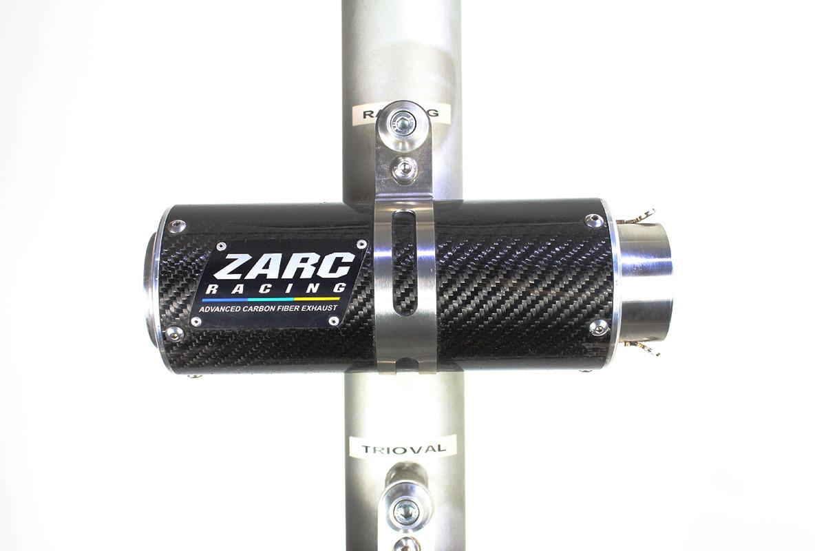 Escapamento Zarc Racing 63 Para Kawasaki ZX 10 2012/2017  - Nova Suzuki Motos e Acessórios