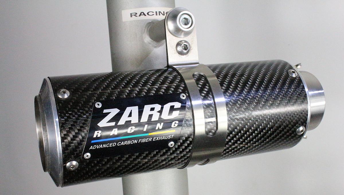 Escapamento Zarc Racing Para Suzuki SRAD 750 2011/2013  - Nova Suzuki Motos e Acessórios