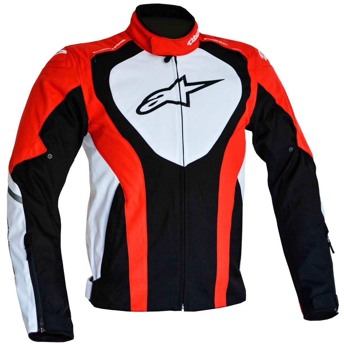 Jaqueta Alpinestars Caladan WP (Black/White/Red) - LANÇAMENTO  - Nova Suzuki Motos e Acessórios