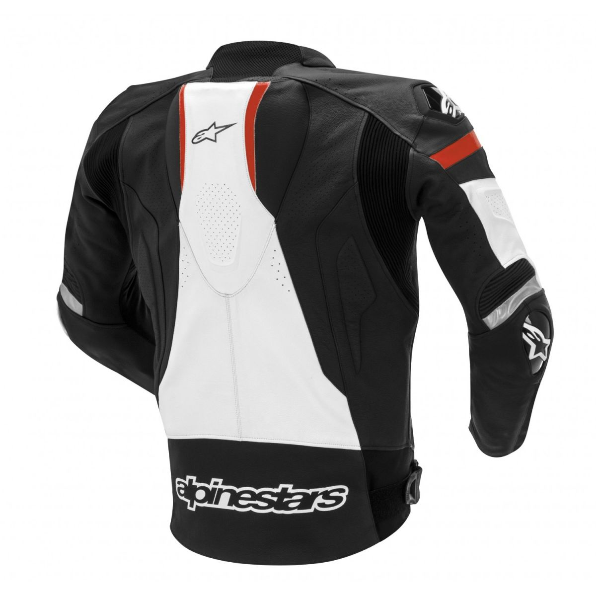 Jaqueta Alpinestars Couro GP Pro Preta/BR/VM  - Nova Suzuki Motos e Acessórios