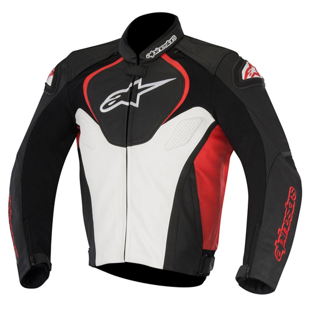 Jaqueta Alpinestars Jaws (Black/White/Red) - LANÇAMENTO  - Nova Suzuki Motos e Acessórios