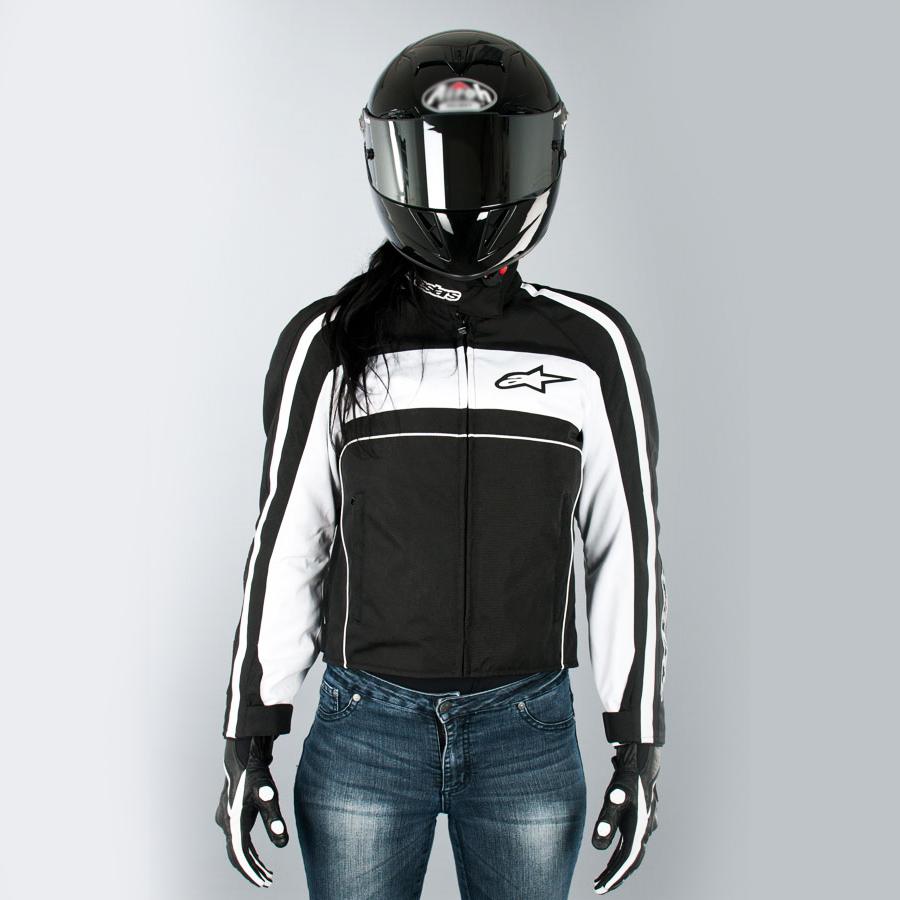 Jaqueta Alpinestars Stella T-Dyno Preta 100% Impermeável  - Nova Suzuki Motos e Acessórios