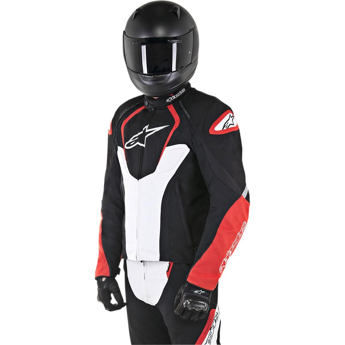 Jaqueta Alpinestars T-Jaws WP (Black/Red/White) (Impermeável) - LANÇAMENTO  - Nova Suzuki Motos e Acessórios