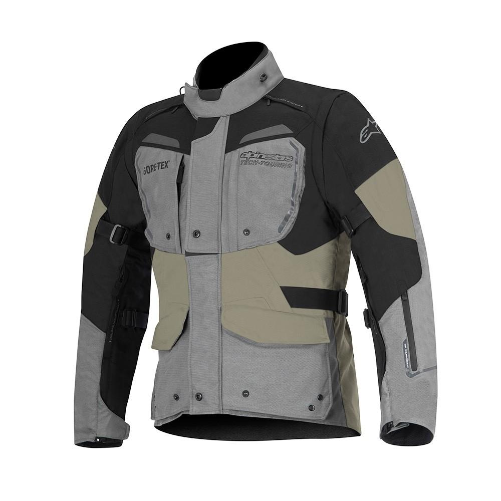 Jaqueta Alpinestars Touring DURBAN (Gray/Black/Sand) LANÇAMENTO  - Nova Suzuki Motos e Acessórios