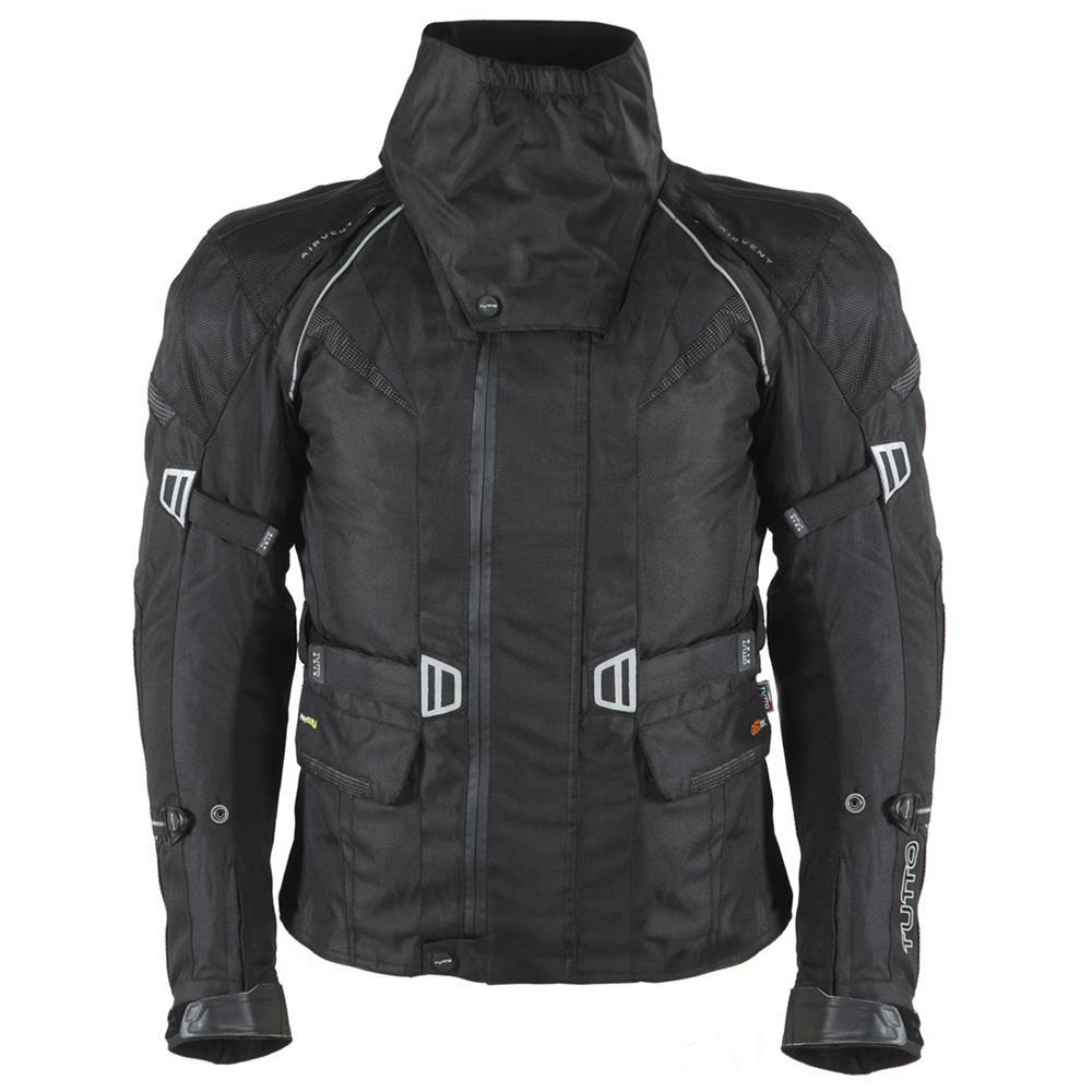 Jaqueta Tutto Moto Giuseppe Parka (Titanium) - Ganhe Caneca Tutto  - Nova Suzuki Motos e Acessórios