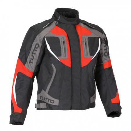 Jaqueta Tutto Racing Vermelha Infantil - 100% Impermeável  - Nova Suzuki Motos e Acessórios