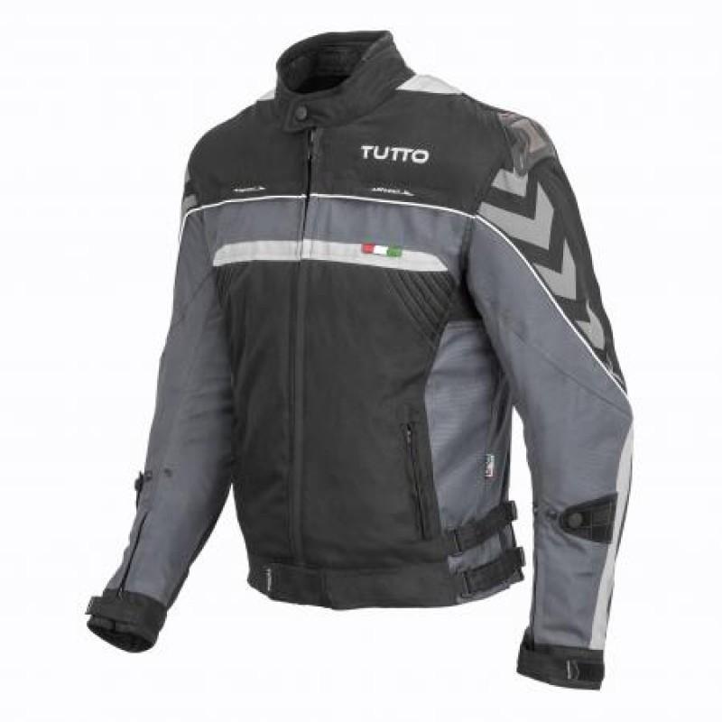 Jaqueta Tutto Moto Veloce Cinza 100% Impermeável (Sugestão de Kit)  - Nova Suzuki Motos e Acessórios