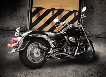"""Escapamento JJ Cobra Boulevard C1500 2.1/2"""" Sport Cromo  - Nova Suzuki Motos e Acessórios"""