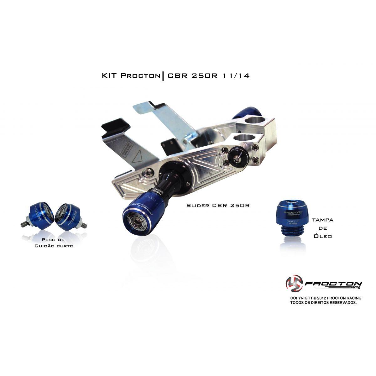 KIT Procton Honda CBR250R  - Nova Suzuki Motos e Acessórios