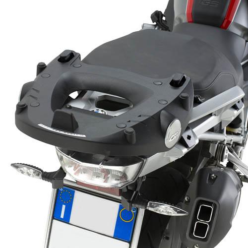 Monorack Givi SR5108 Para BMW R1200GS 13/14 - Baús Importados (base M-5 acompanha o produto)  - Nova Suzuki Motos e Acessórios