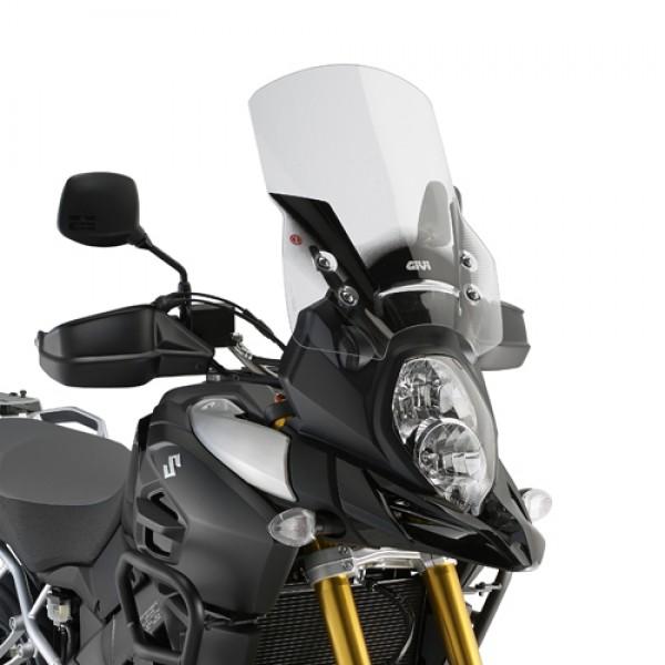 Parabrisa Alto D3105ST Givi para V-Strom 1000 2014 - Transparente  - Nova Suzuki Motos e Acessórios