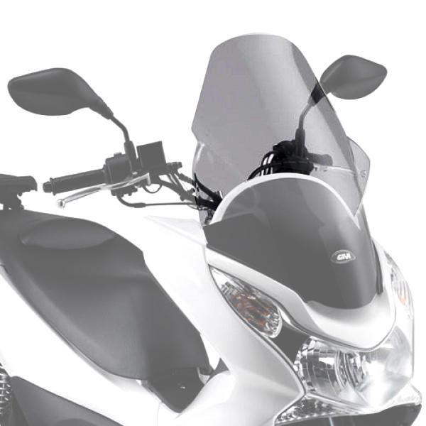 Parabrisa D322ST Givi para PCX 10-14 - Transparente (CONSULTE-NOS)  - Nova Suzuki Motos e Acessórios