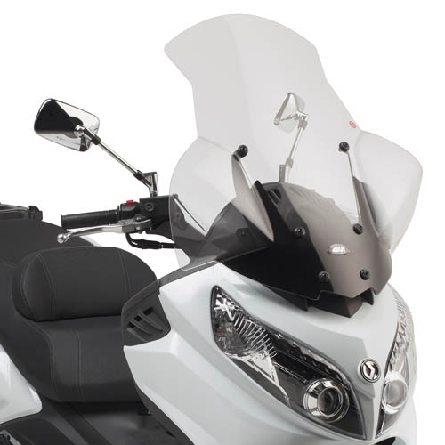 Parabrisa Givi 7051DT Para Dafra Masxym 400 + Kit Fixação D7051KIT  - Nova Suzuki Motos e Acessórios
