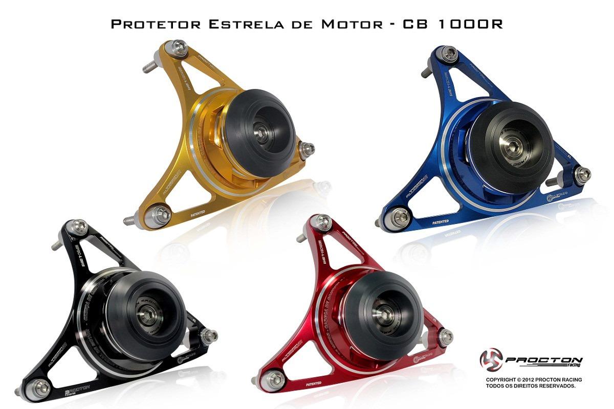 Protetor De Motor Estrela Procton P/ CB1000R / CBR1000-06/07  - Nova Suzuki Motos e Acessórios