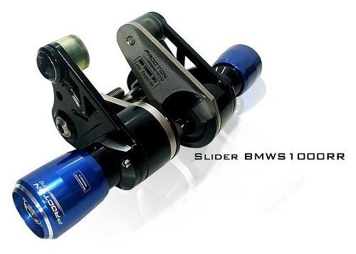 Slider Dianteiro Procton com Amortecimento p/ BMW S1000RR (15/17) Roletado  - Nova Suzuki Motos e Acessórios