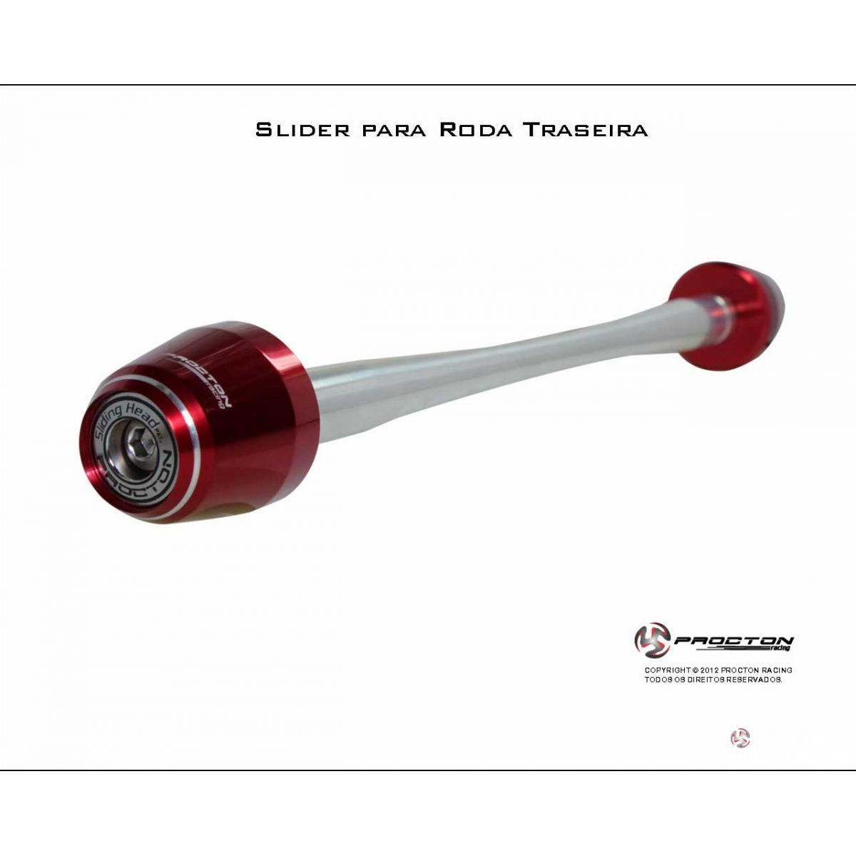 Slider Roda Traseiro SRAD750 14/16  - Nova Suzuki Motos e Acessórios