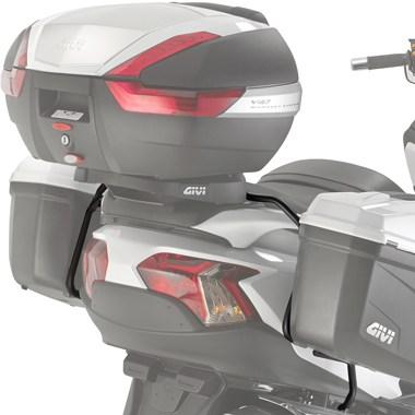 Suporte Lateral Givi PL3104 (E21 e E22) para Burgman 650 Executive  - Nova Suzuki Motos e Acessórios