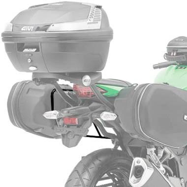 Suporte Lateral para Alforge Easylock TE4108 Givi para Ninja 300  - Nova Suzuki Motos e Acessórios