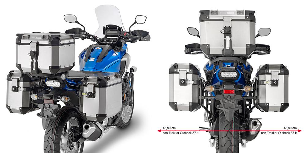 Suporte Lateral PL4103CAM Givi - Versy 650 - (CONSULTE-NOS)  - Nova Suzuki Motos e Acessórios