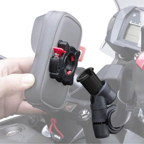 Suporte Para Smartphone S955  - Nova Suzuki Motos e Acessórios