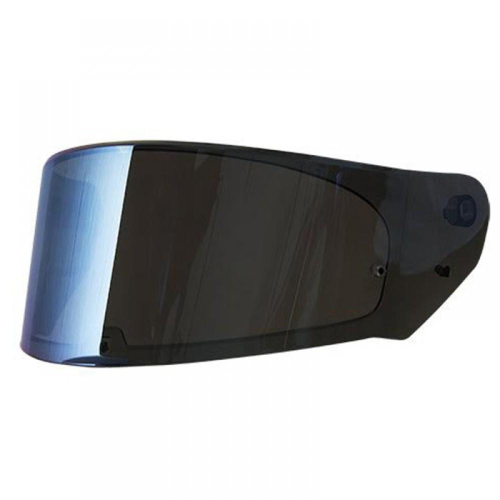 Viseira Stream LS2 FF320 Iridium Azul  - Nova Suzuki Motos e Acessórios