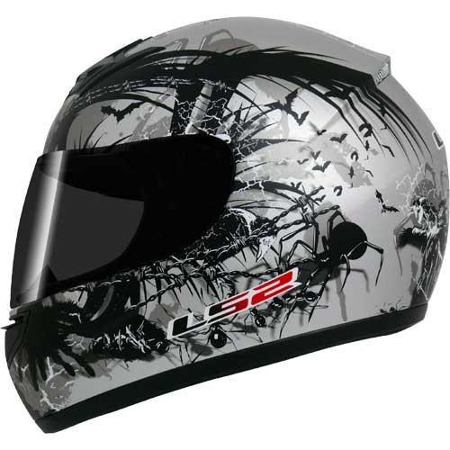 Capacete LS2 FF350 Phobia - Cinza  - Super Bike - Loja Oficial Alpinestars