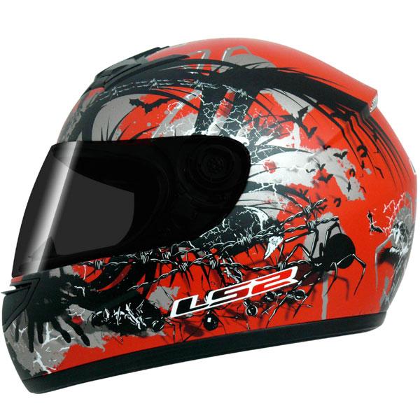 Capacete LS2 FF350 Phobia Vermelho GANHE BALACLAVA  - Super Bike - Loja Oficial Alpinestars